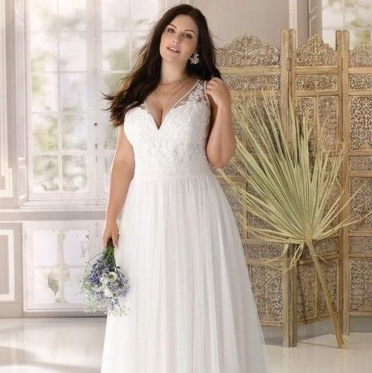 Ladybird - LS321062 Brautkleid Vorderansicht 2