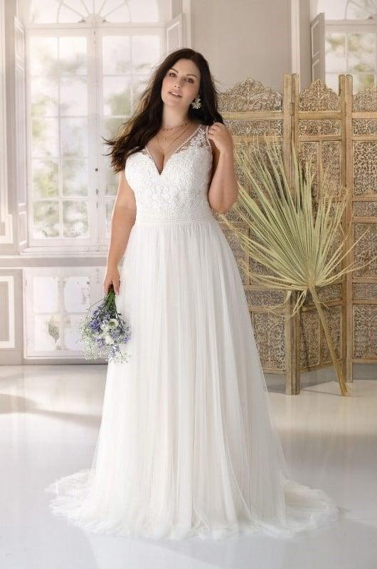 Ladybird - LS321062 Brautkleid Vorderansicht 1