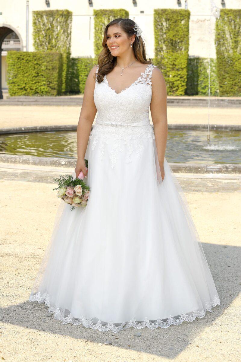 Ladybird - LS720024 Brautkleid Vorderansicht 2