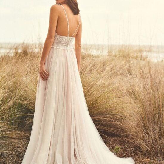 Lillian West - 66108 Brautkleid Rückansicht 1