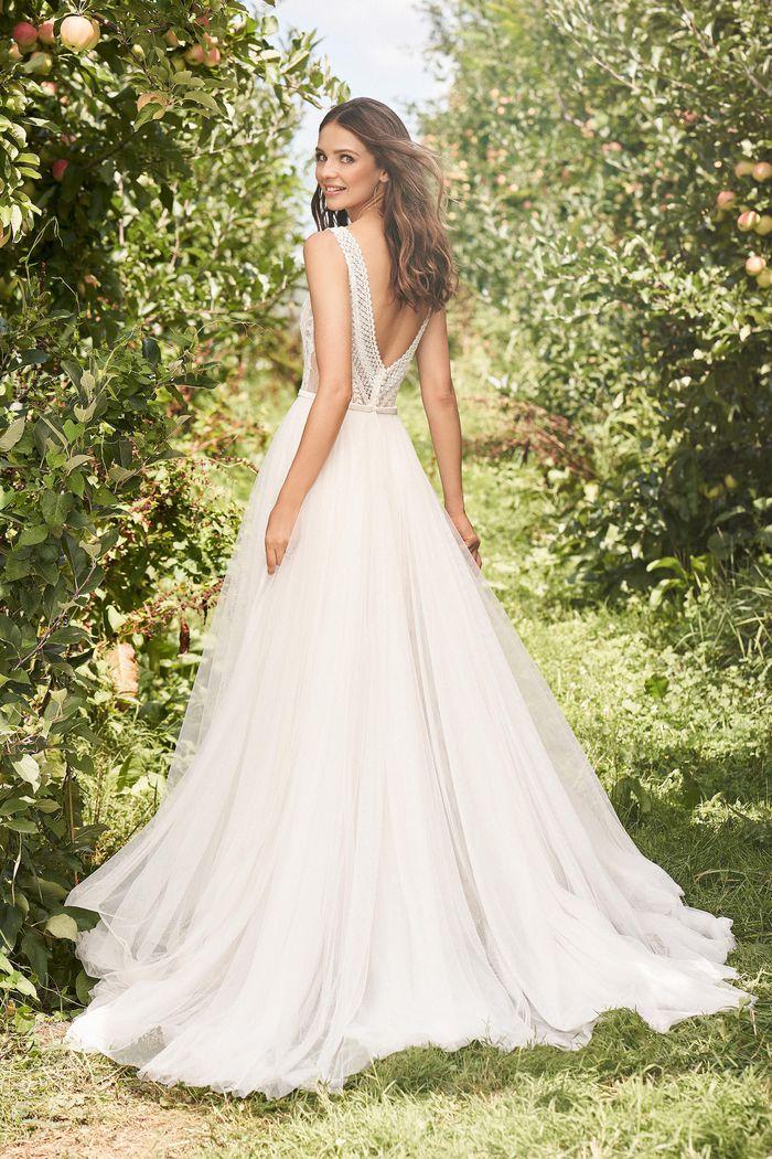 Lillian West - 66122 Brautkleid Rückansicht 1