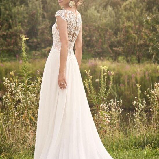 Lillian West - 66132 Brautkleid Rückansicht 1