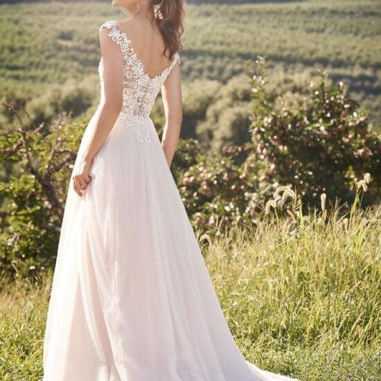 Lillian West - 66133 Brautkleid Rückansicht 1