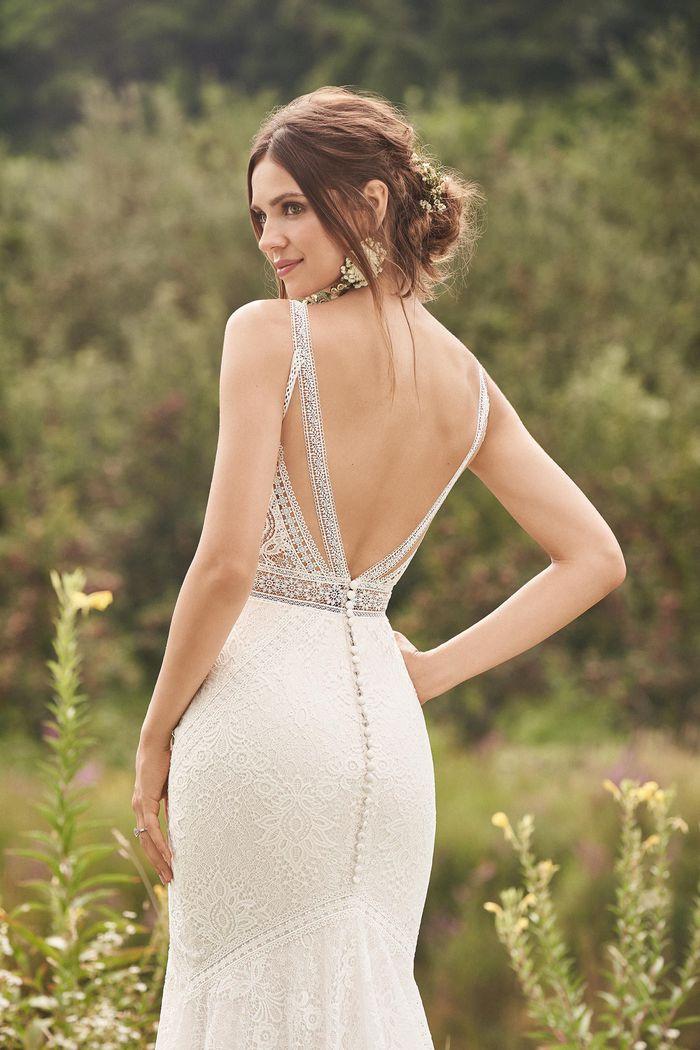 Lillian West - 66136 Brautkleid Rückansicht 2