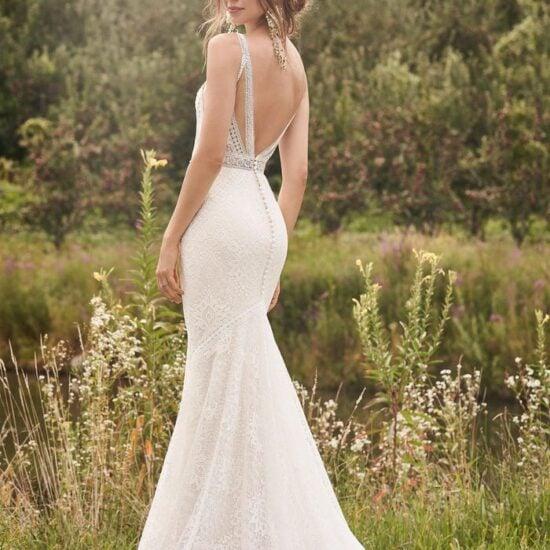 Lillian West - 66136 Brautkleid Rückansicht 1