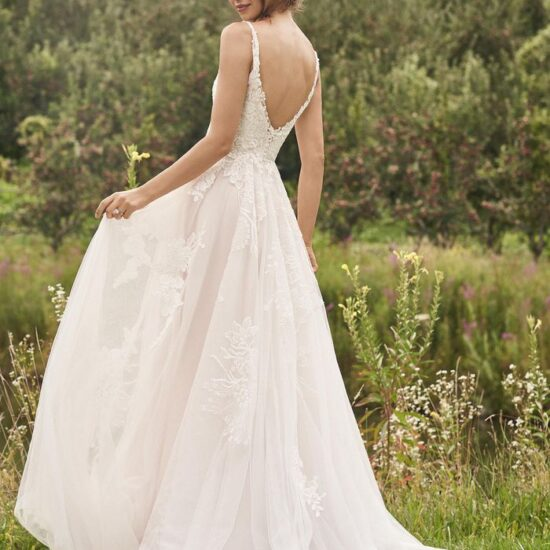 Lillian West - 66142 Brautkleid Rückansicht 1