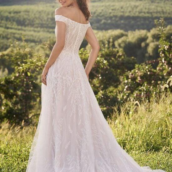 Lillian West - 66145 Brautdkleid Rückansicht 1