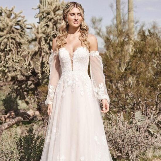 Lillian West - 66175 Brautkleid Vorderansicht 3