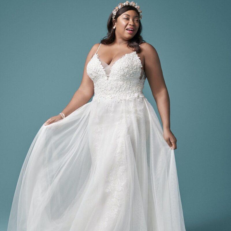 Maggie Sottero - Roanne Brautkleid Vorderansicht 3