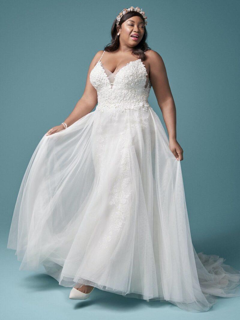 Maggie Sottero - Roanne Brautkleid Vorderansicht 2