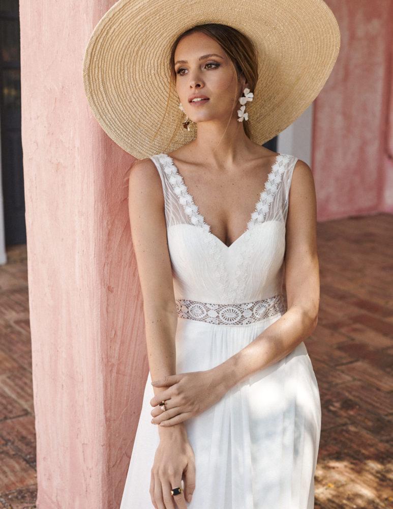 Marylise - One Fine Day Brautkleid Vorderansicht 1