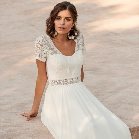 Marylise - Soulsister Brautkleid Vorderansicht 2
