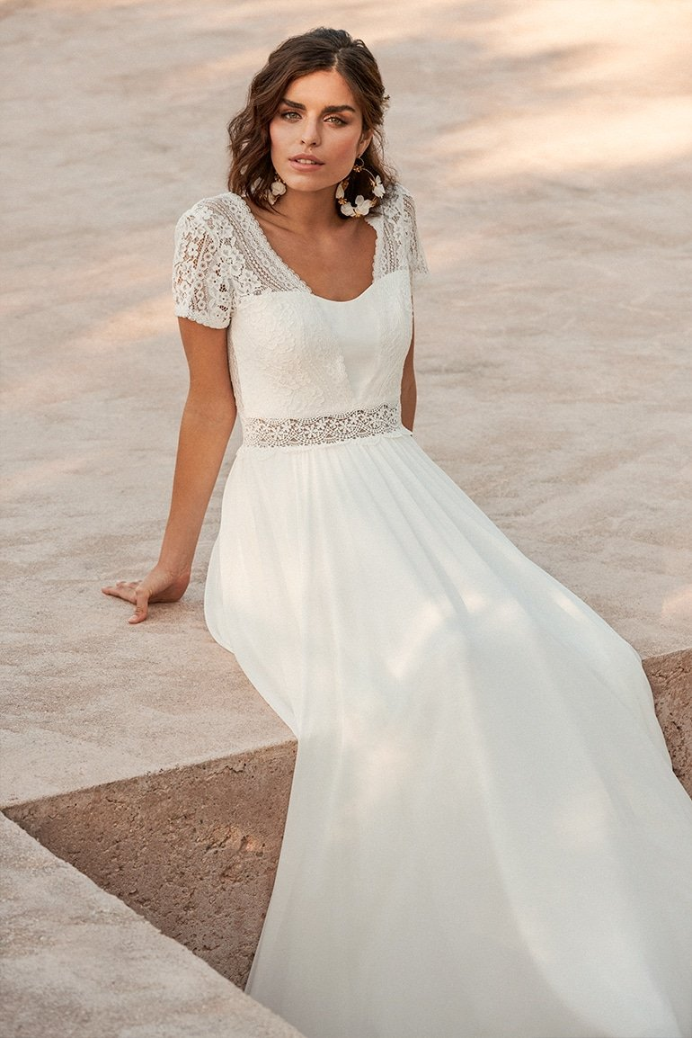 Marylise - Soulsister Brautkleid Vorderansicht 1