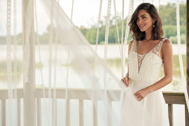 Marylise - Wifey For Lifey Brautkleid Vorderansicht 1