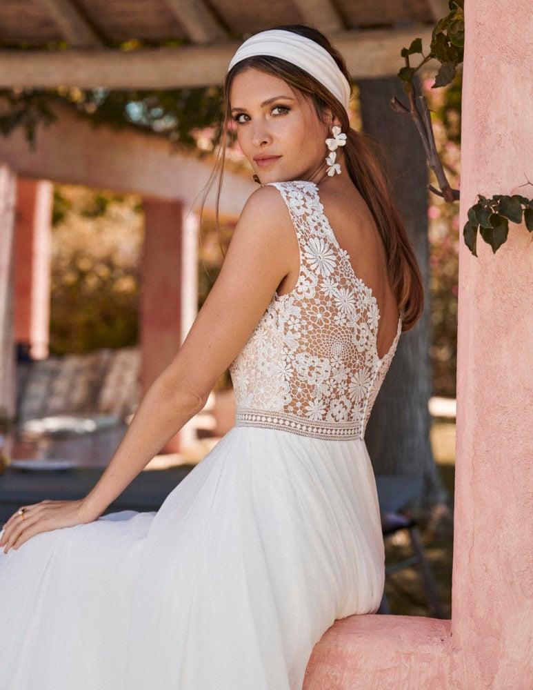 Marylise - Dreamlover Brautkleid Rückansicht 2