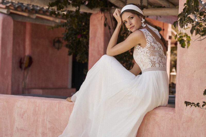 Marylise - Dreamlover Brautkleid Rückansicht 1