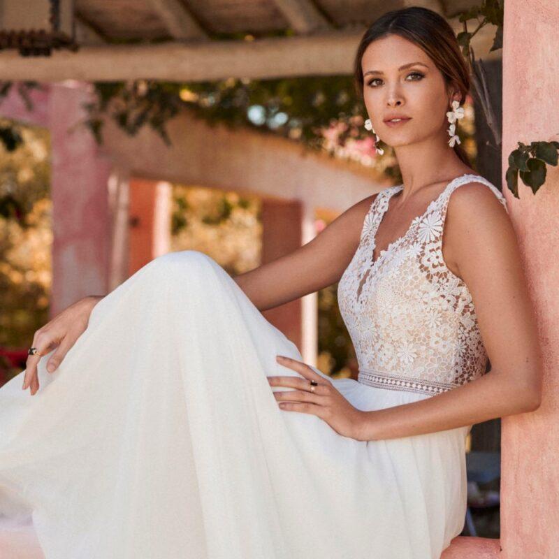 Marylise - Dreamlover Brautkleid Vorderansicht 2