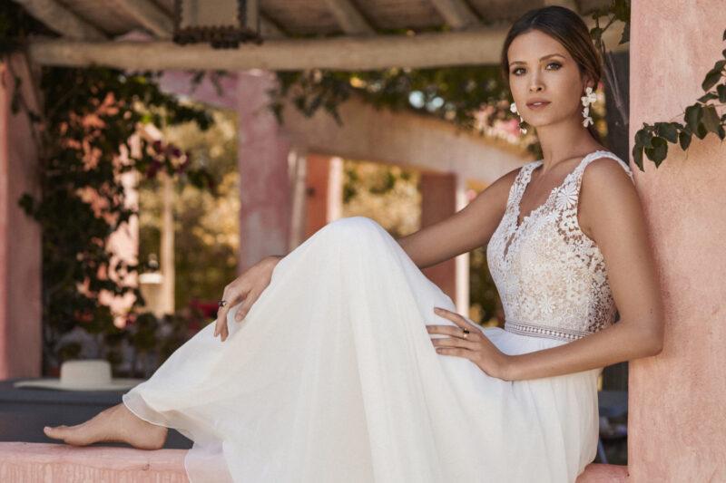 Marylise - Dreamlover Brautkleid Vorderansicht 1