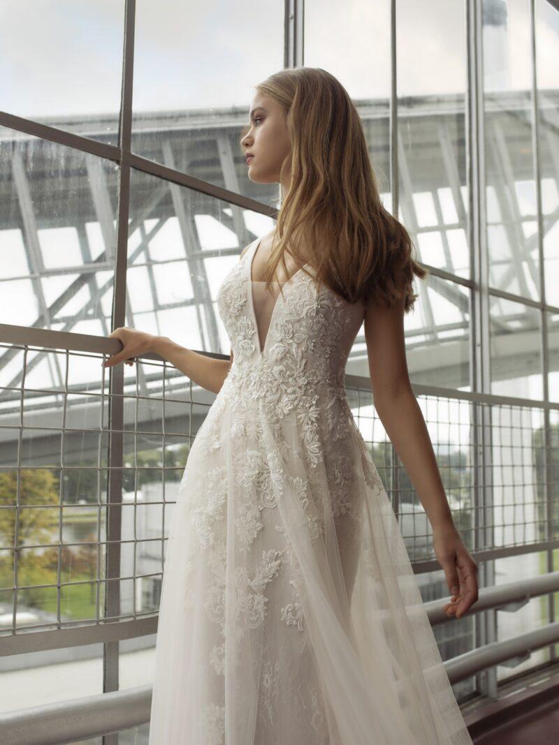 Le Papillon - Larna Brautkleid Vorderansicht 3