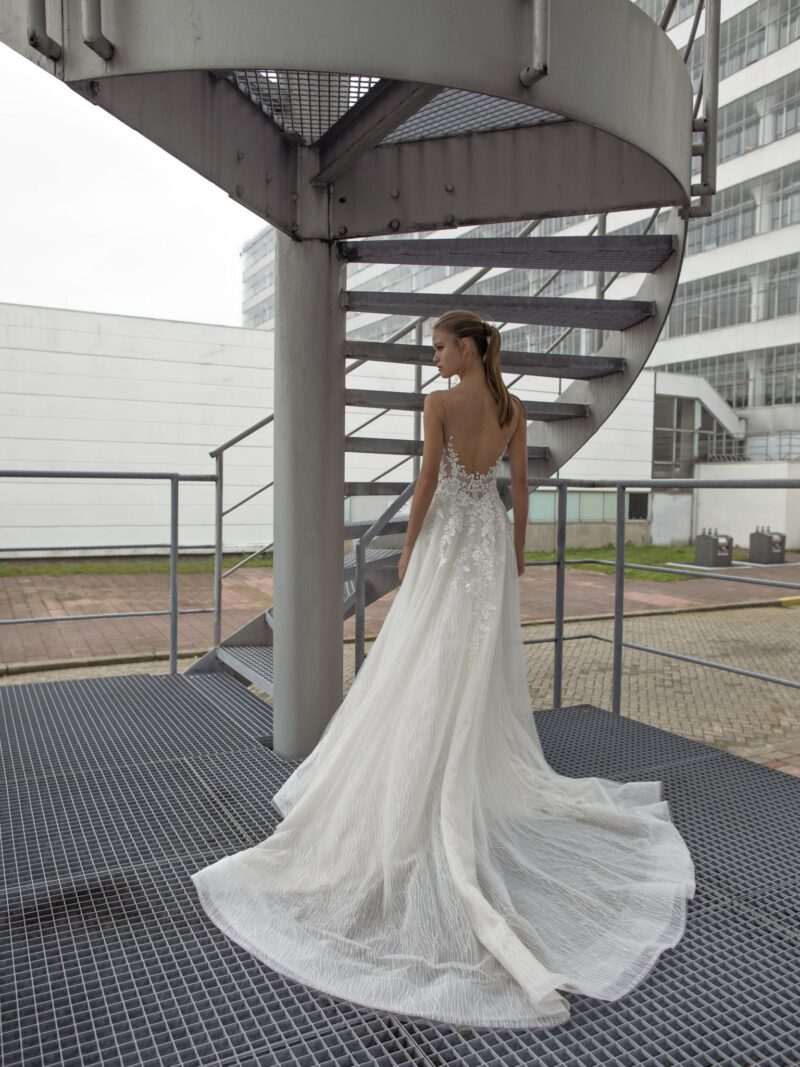 Le Papillon - Liara Brautkleid Rückansicht 1