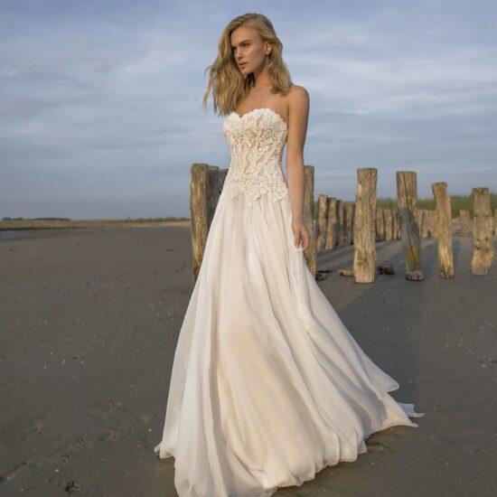 Modeca -Doreen Brautkleid Vorderansicht 3