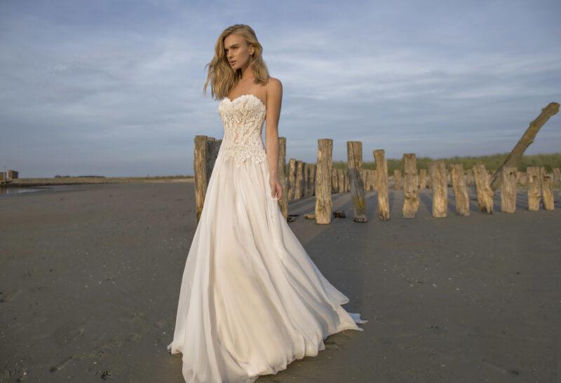 Modeca -Doreen Brautkleid Vorderansicht 2