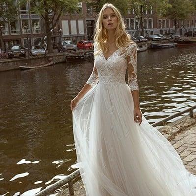 Modeca - Forza Brautkleid Vorderansicht 3