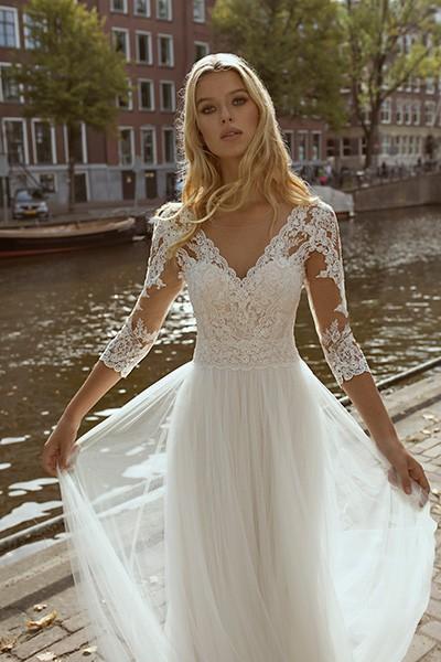 Modeca - Forza Brautkleid Vorderansicht 1