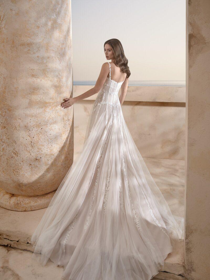 Le Papillon - Harrogate Brautkleid Rückansicht 1