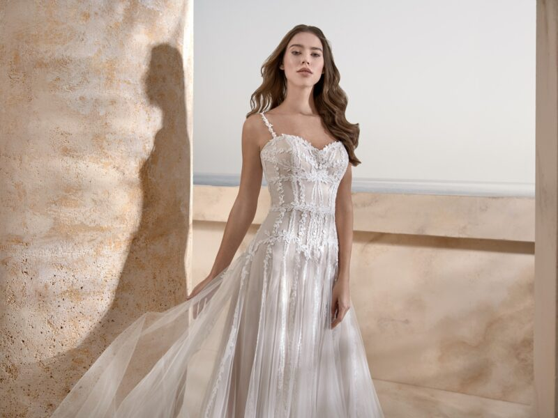 Le Papillon - Harrogate Brautkleid Vorderansicht 1
