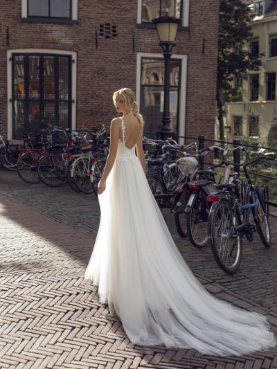 Modeca - Kendall Brautkleid Rückansicht 1