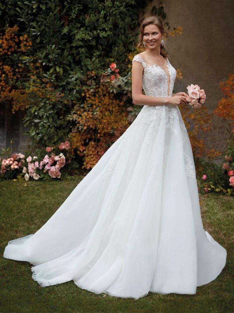 Nicole Milano - CO12138 Brautkleid Vorderansicht 1