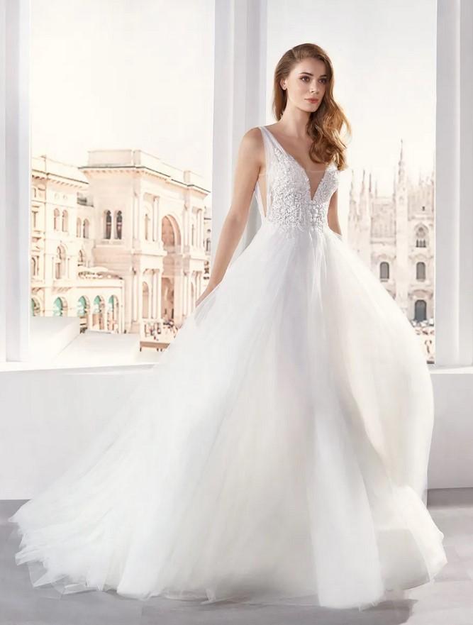 Nicole Milano - JO12139 Brautkleid Vorderansicht 3