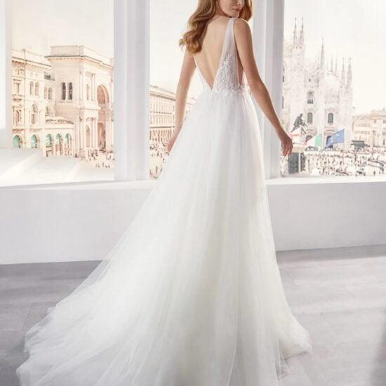 Nicole Milano - JO12139 Brautkleid Rückansicht 1