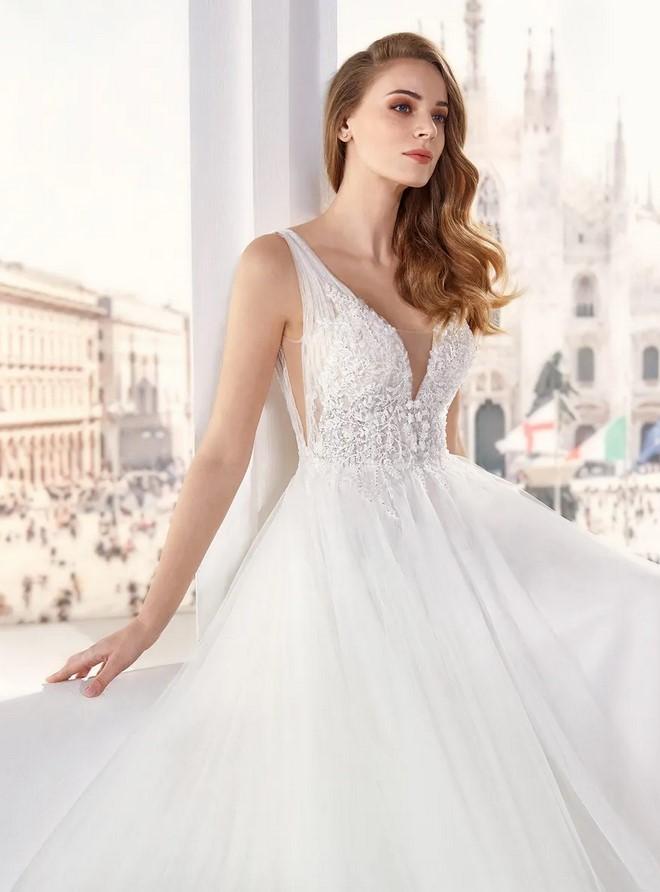 Nicole Milano - JO12139 Brautkleid Vorderansicht 2