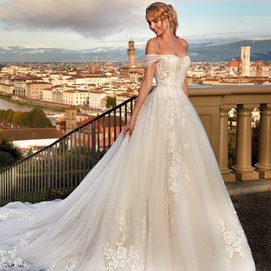 Nicole Milano - NI121A5 Brautkleid Vorderansicht 2