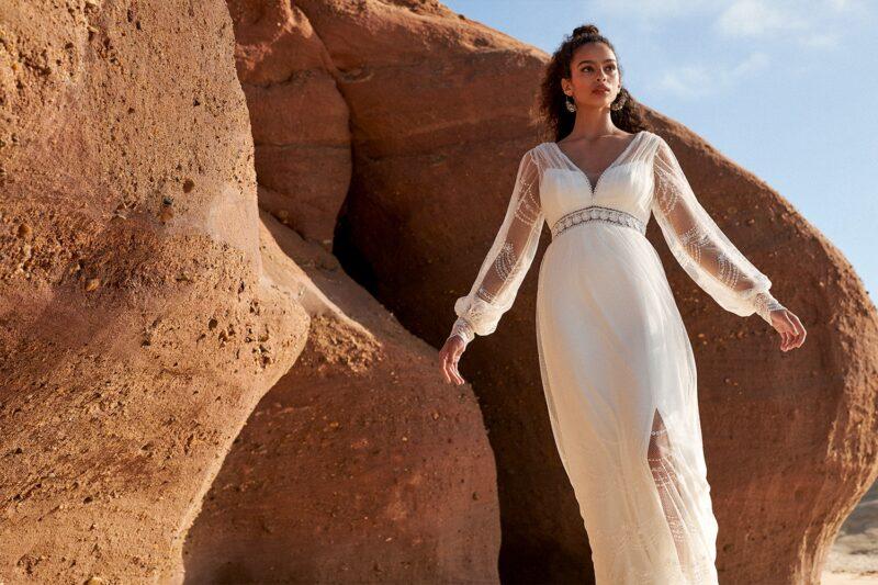 Rembo Styling - Dreams Brautkleid Vorderansicht 1