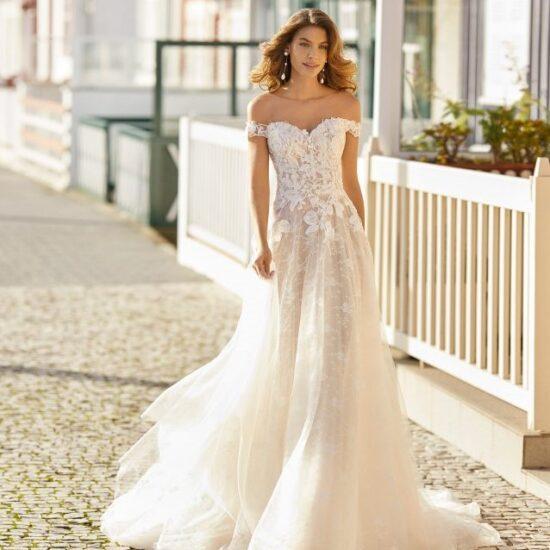 Rosa Clará - Hayen Brautkleid Vorderansicht 2