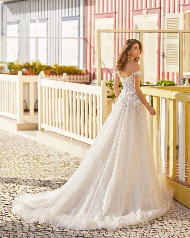 Rosa Clará - Hayen Brautkleid Rückansicht 1