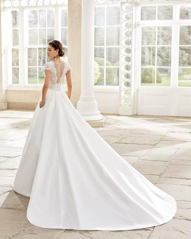 Rosa Clará - Torino Brautkleid Rückansicht 1