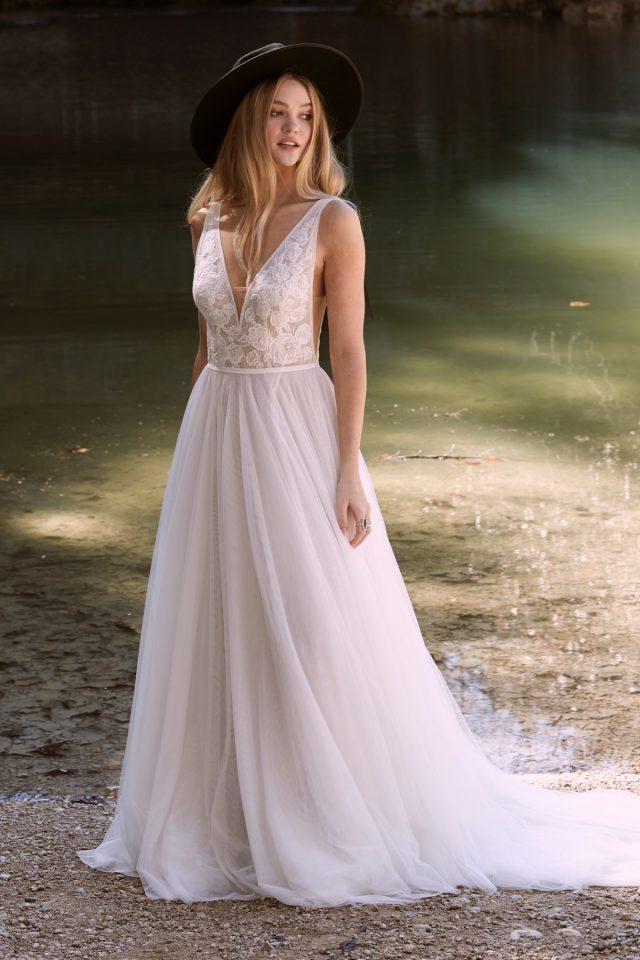 Watters Willowby - Spencer Brautkleid Vorderansicht 1