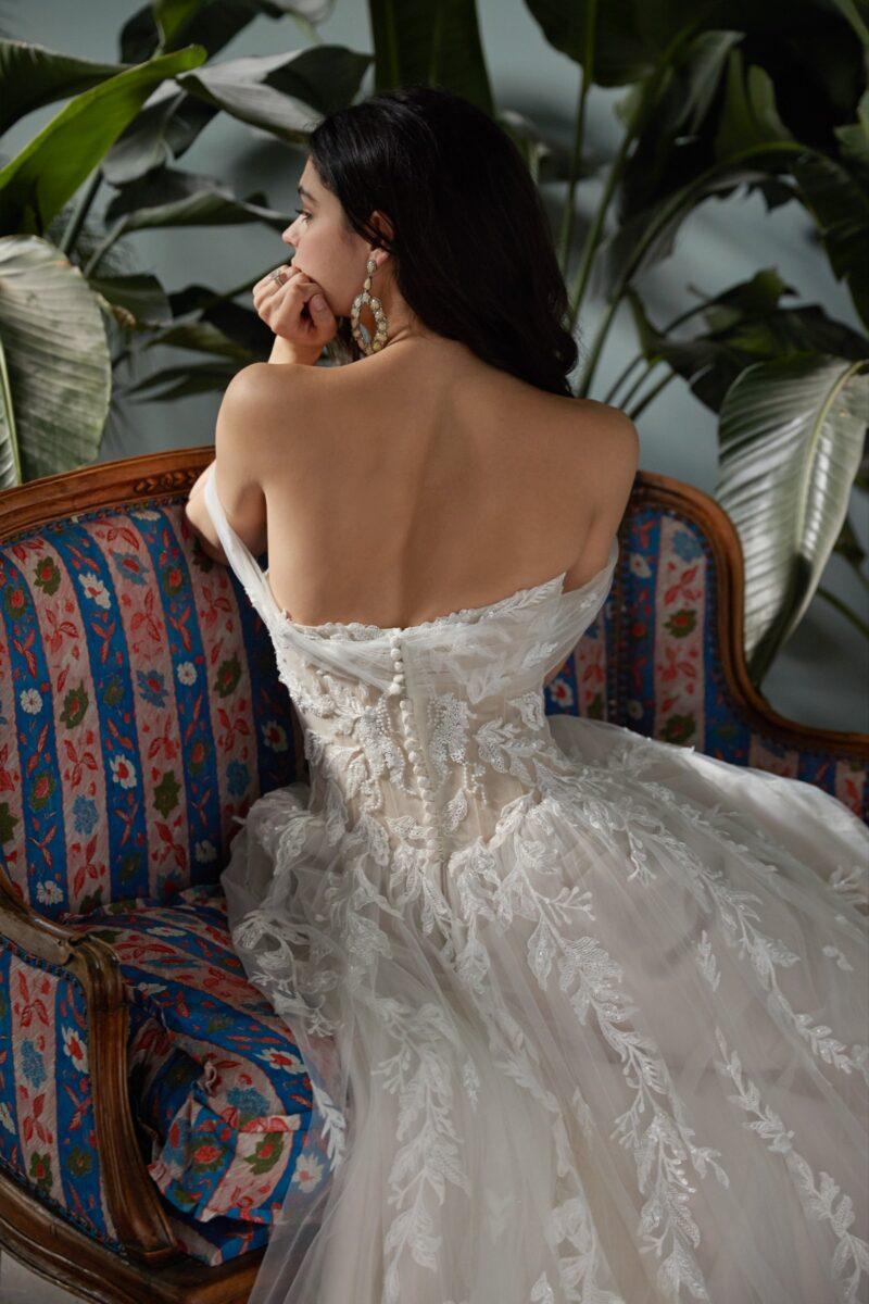 Watters Wtoo - Zazie Brautkleid Rückansicht 1