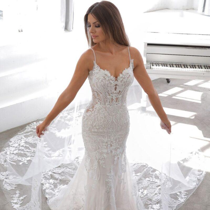 Enzoani - Neda Brautkleid Vorderansicht 1