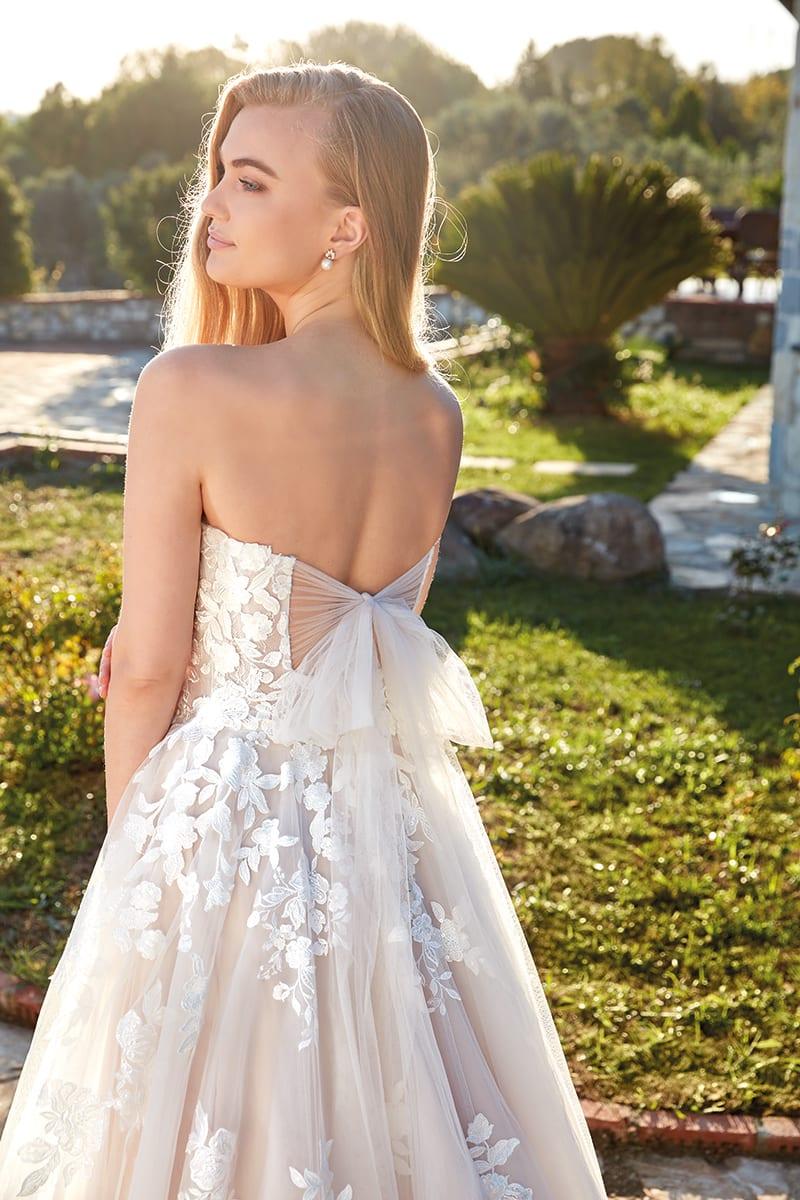 EDDY K - Fleur Brautkleid Rückenansicht 1