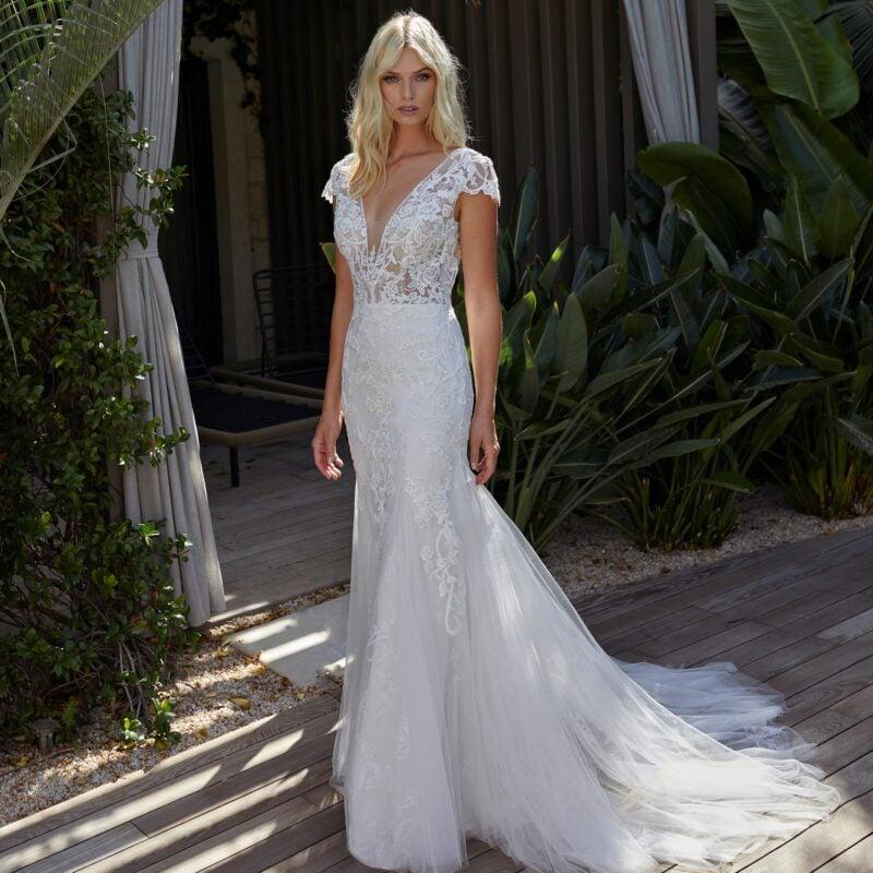 Modeca - Natasha Brautkleid Vorderansicht 1