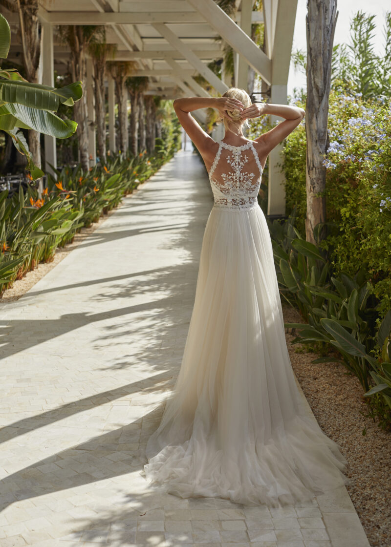 Modeca - Nouri Brautkleid Rückansicht 2