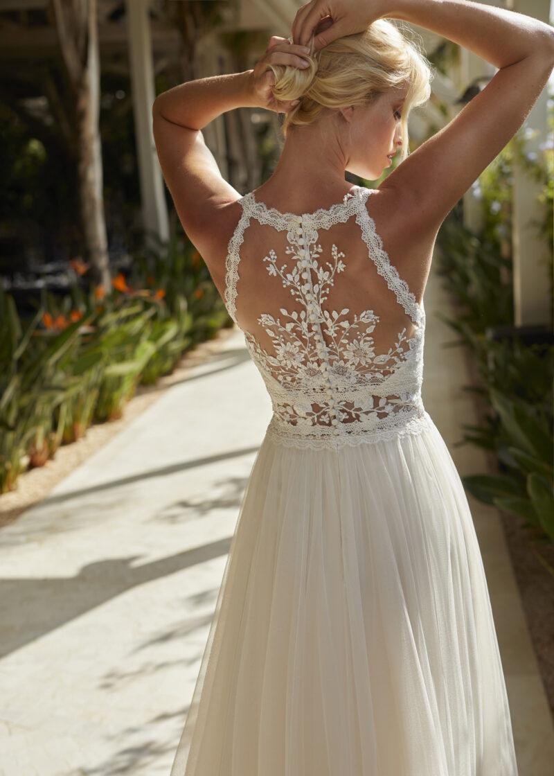 Modeca - Nouri Brautkleid Rückansicht 1