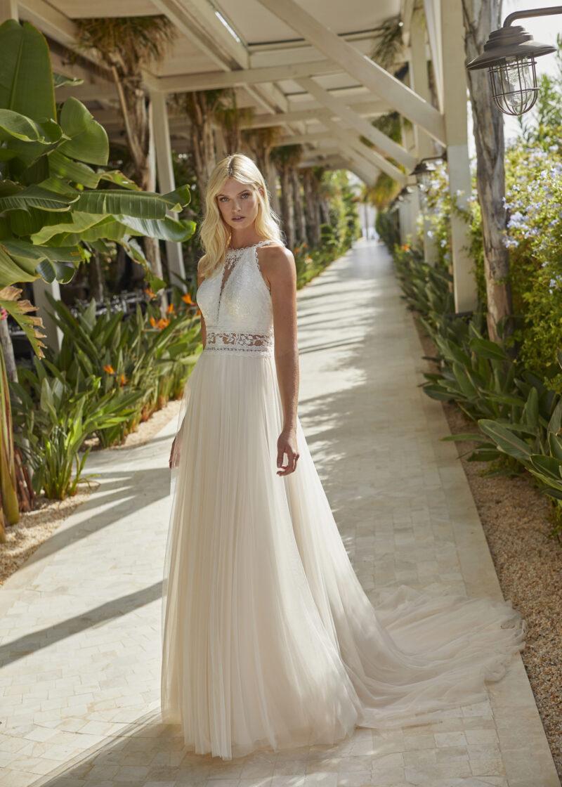 Modeca - Nouri Brautkleid Vorderansicht 2