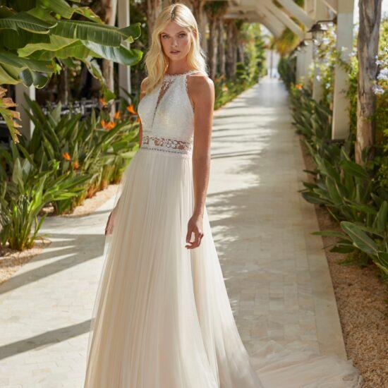 Modeca - Nouri Brautkleid Vorderansicht 1