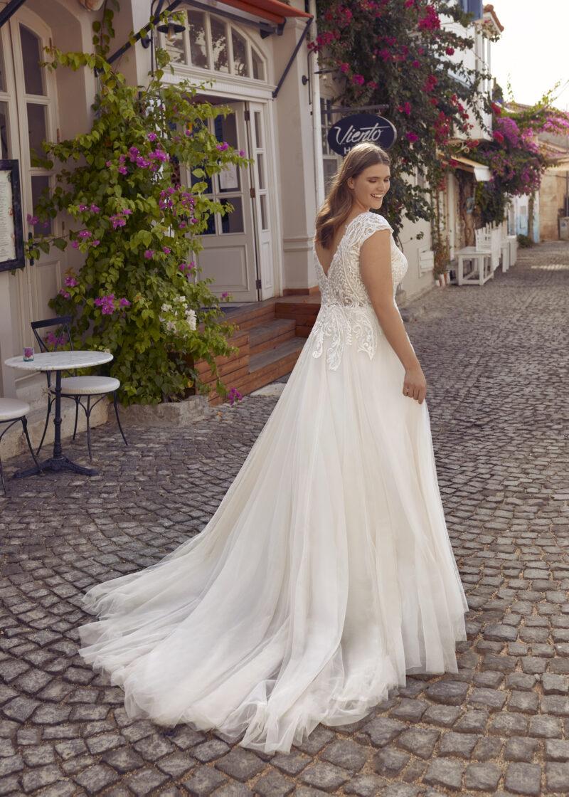 Modeca - Purity Brautkleid Rückansicht 2
